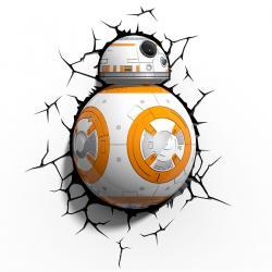Imagem do produto Abajur Star Wars - 3D - BB-8
