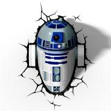 Abajur Star Wars - 3D - R2-D2
