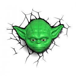 Imagem do produto Abajur Star Wars - 3D - Yoda