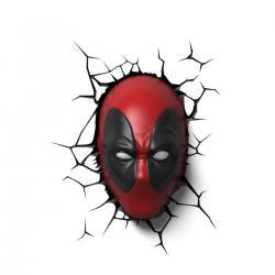 Imagem do produto Abajur Super Herói 3D - DEADPOOL