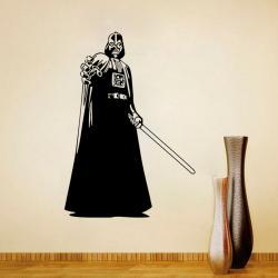Imagem do produto Adesivo de parede Darth Vader - Star Wars