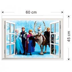 Imagem do produto Adesivo de Parede Frozen