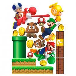 Imagem do produto Adesivo de Parede - Super Mario