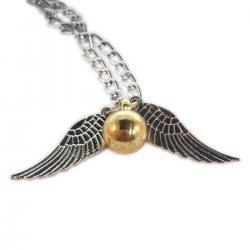 Imagem do produto Colar Pomo de Ouro Harry Potter - Prata