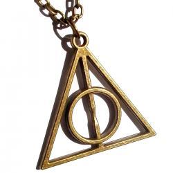 Imagem do produto Colar Relíquias da Morte - Harry Potter - Dourado