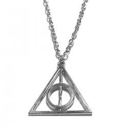 Imagem do produto Colar Relíquias da Morte - Harry Potter - Prata