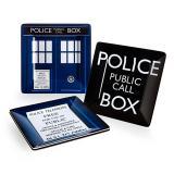 Conjunto 4 pratos Doctor Who