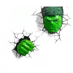 Imagem do produto Conjunto Luminárias 3D Light FX Marvel HULK