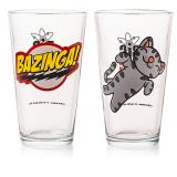Copos Bazinga e Soft Kitty - The Big Bang Theory