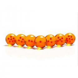 Imagem do produto kit com as 7 Esferas do Dragão do anime Dragon Ball
