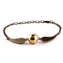 Imagem do produto Pulseira Pomo de Ouro - Harry Potter - Dourado