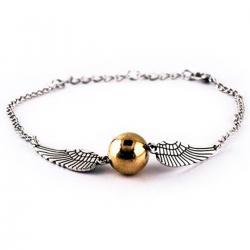 Imagem do produto Pulseira Pomo de Ouro - Harry Potter - Prata