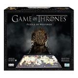 Quebra Cabeça - Game of Thrones - Mapa de Westeros em 3D
