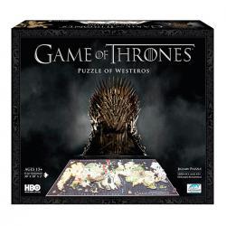 Imagem do produto Quebra Cabeça - Game of Thrones - Mapa de Westeros em 3D