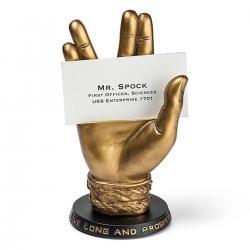 Imagem do produto Suporte cartão de visita Spock - Star Trek