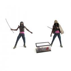 Imagem do produto The Walking Dead - Boneco - Michonne e os Zumbis